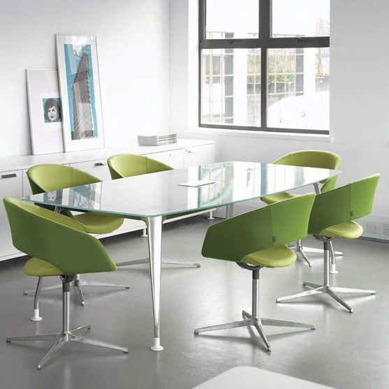 DNA Glass Meeting Table