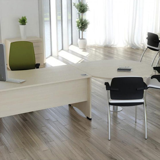 EX10 Radial Desk