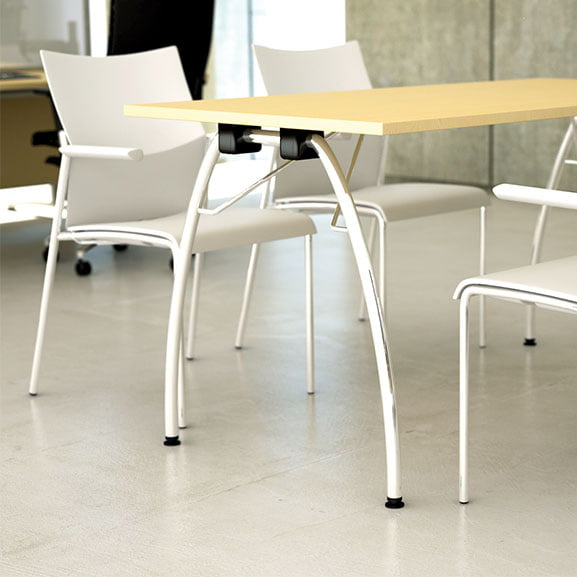Meeting Room Folded Tables by Gresham