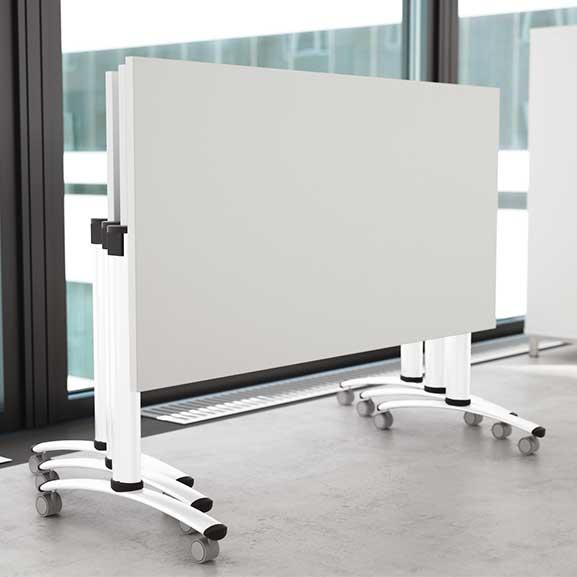 White Tilt Top Telford Tables