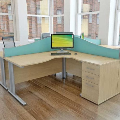 Qudos Office Desk from Imperial Office Furniture