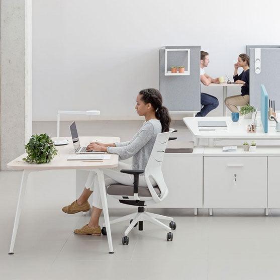 Twist Desk From Actiu