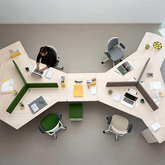 Twist Office Desk from Actiu