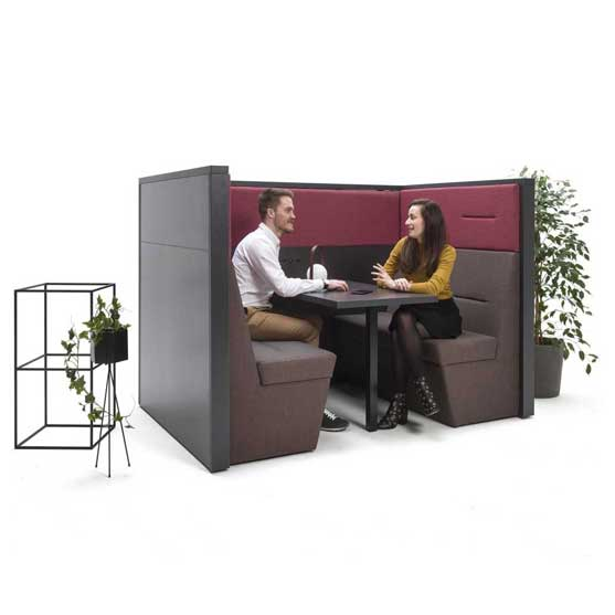 Railway Banquette Booth