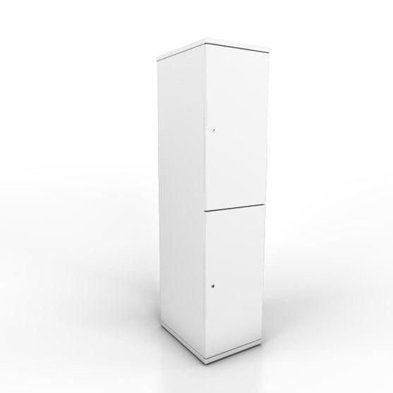 BTS Lockers in white
