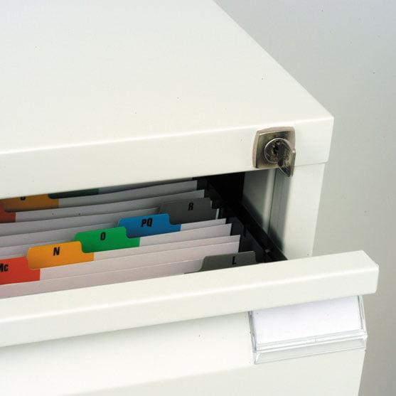 Bisley Card Filing shown inside
