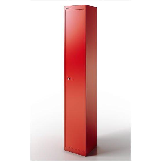 CLK Lockers in red