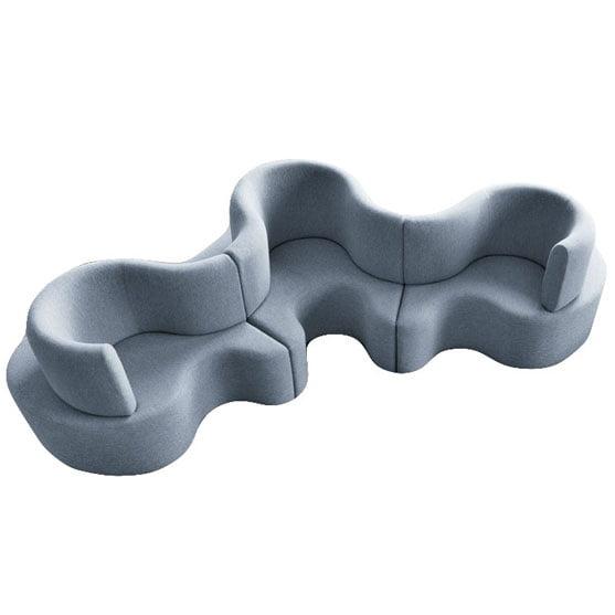 Cloverlaf Sofa in blue