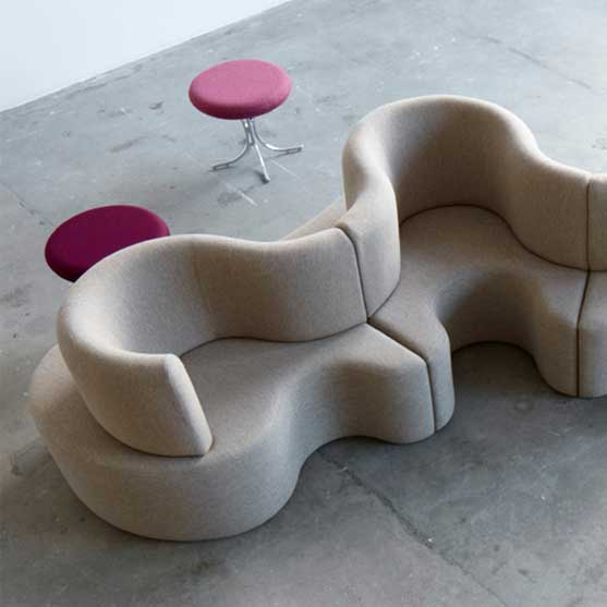 Cloverleaf Sofa from Verpan