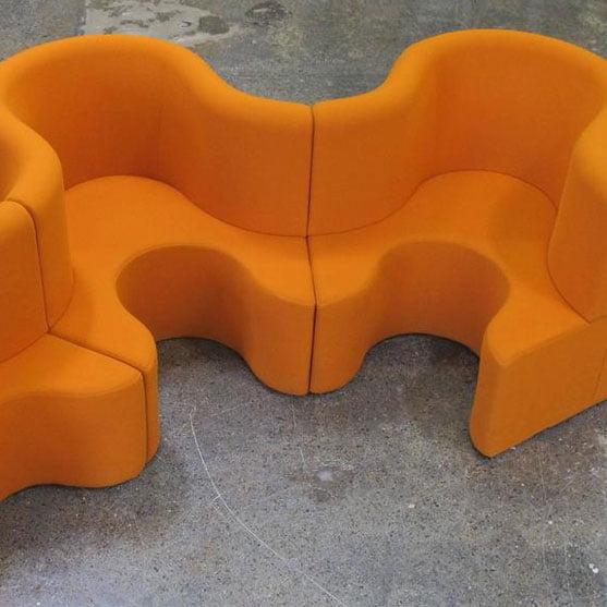 Cloverleaf in Orange