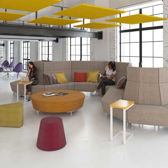Encore Modular shown in a modern office environment