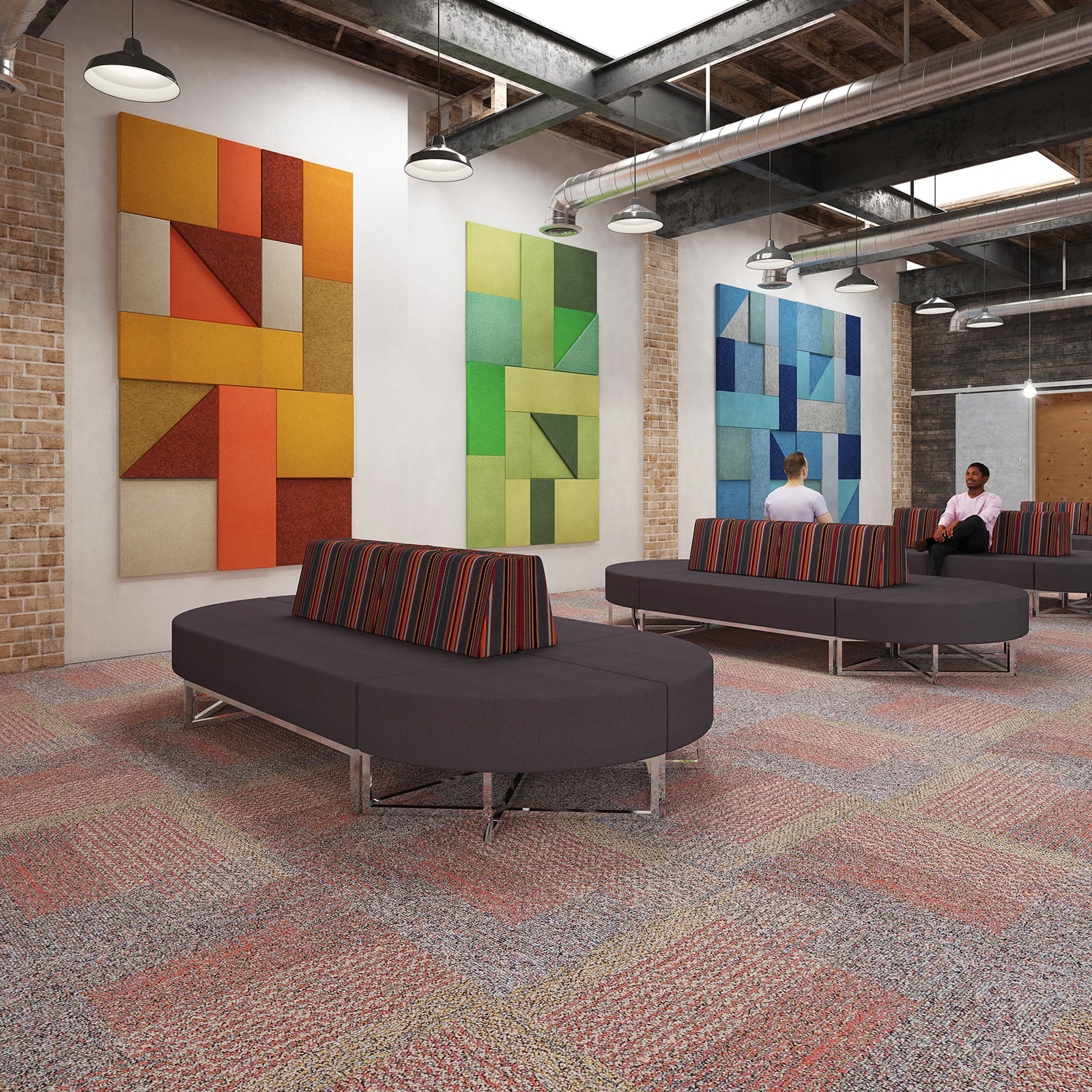 Nera Modular shown in a modern office