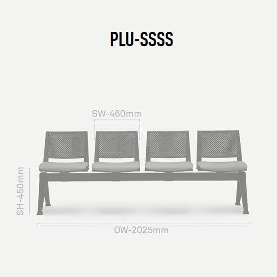 Pila Beam Dimension 04 Seater