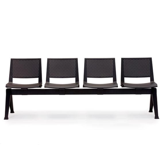 Pila Beam Seating Plastic - Black
