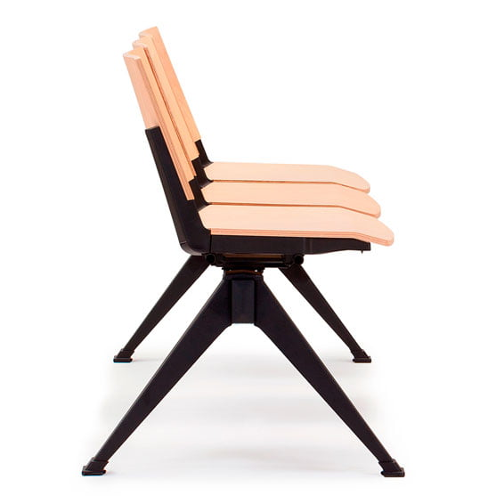 Pila Beam Seating Wood