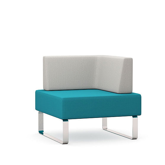 Single Upholstered Chair one arm