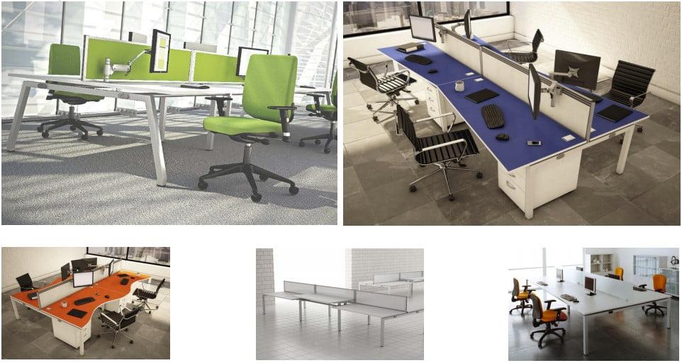The Access bench desk range