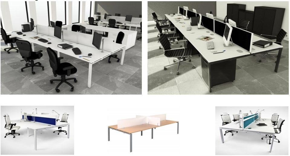 The Astro Arche bench desk range