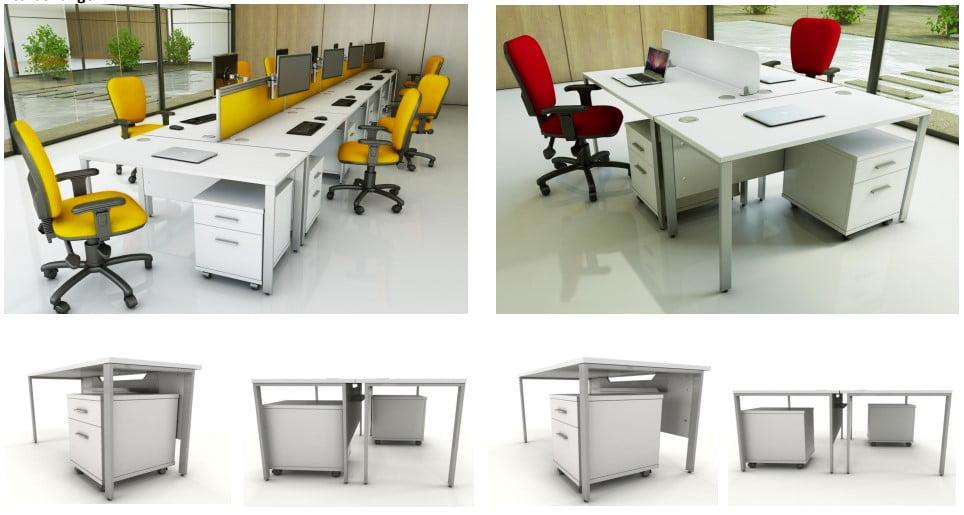 The Icarus bench desk range
