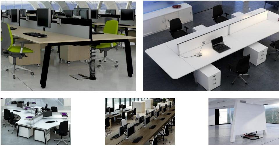 The Linea bench desk range