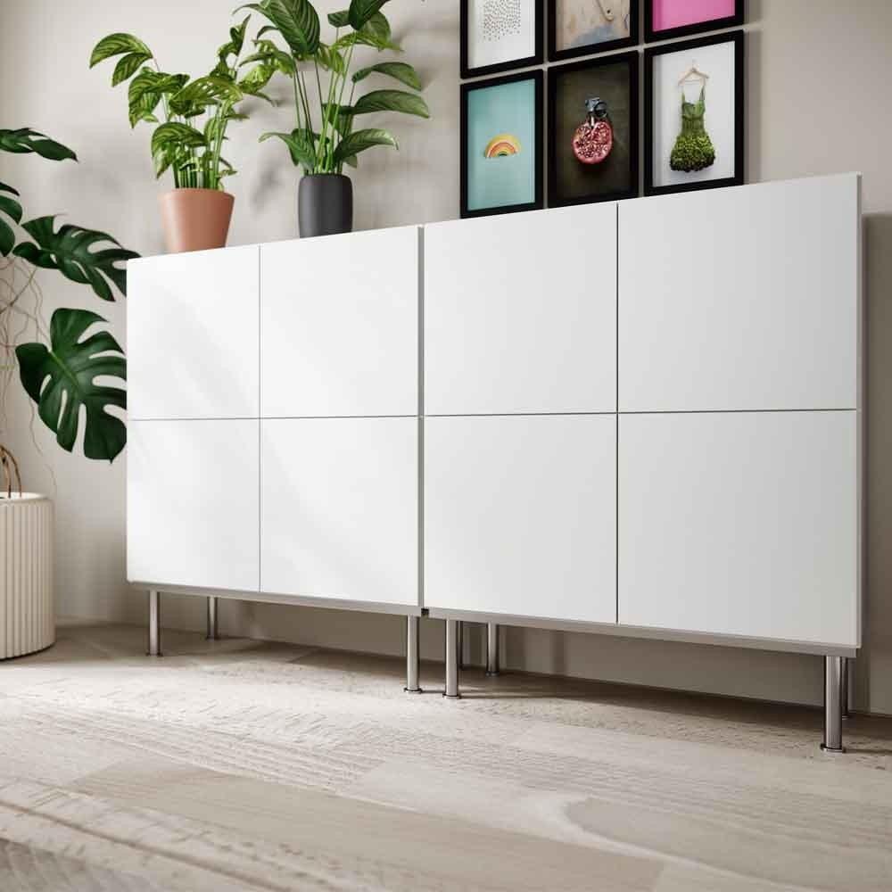 Prestige storage in white