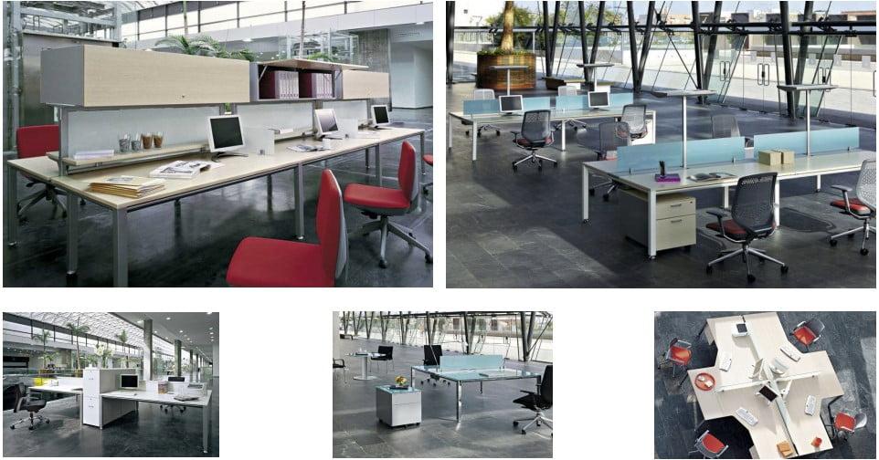 The Vital bench desk range