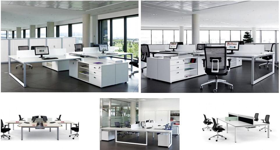 The Vital Plus bench desk range