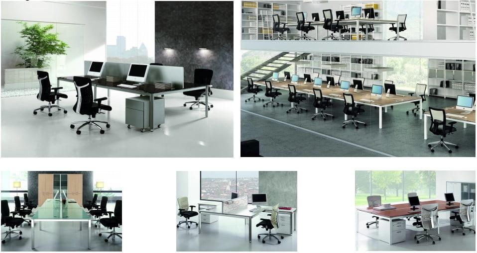 The X4 bench desk range