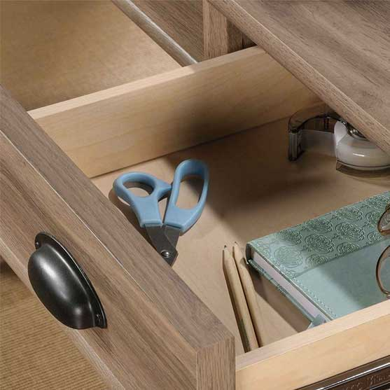 Drawers of Waterside Home Office Desk