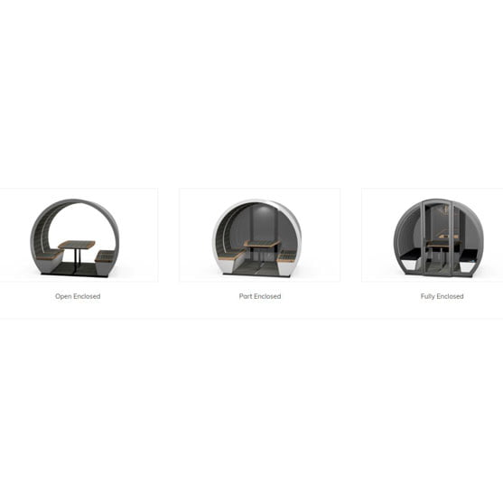 The Outdoor Pod Options