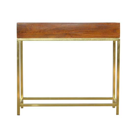 Vintage Console 2 drawer by Artisan BT Office Furniture