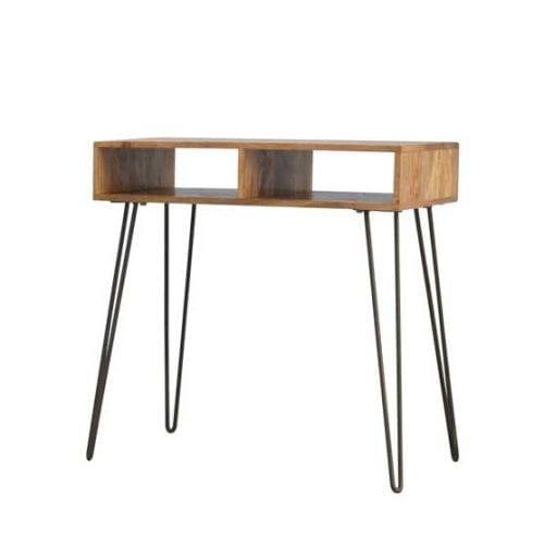 Solid-Wood-Iron-Base-Writing-Desk
