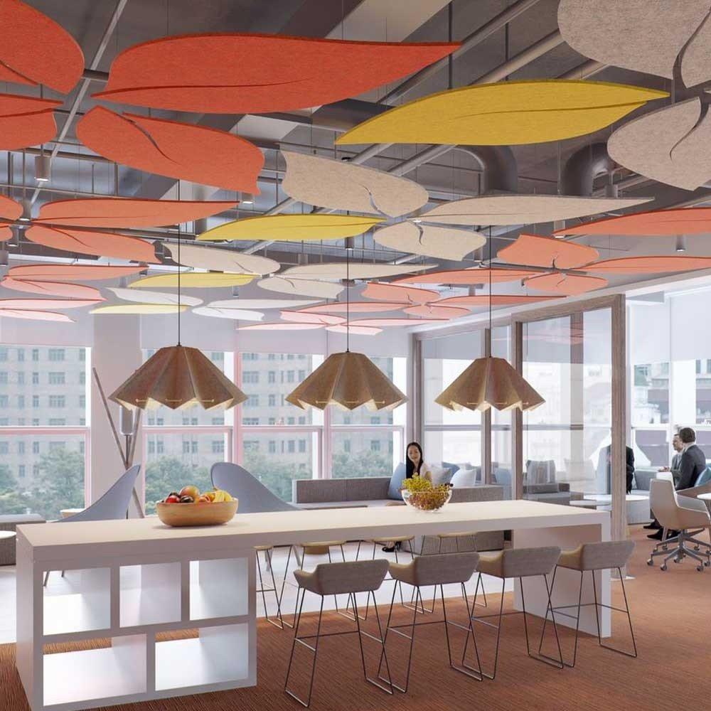 Allsfar leaf ceiling acoustic panels