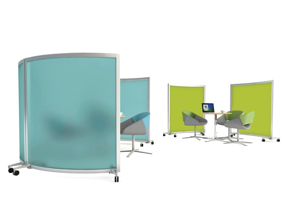Mobile curved screens