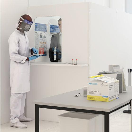 Pathogen Testing Booth 04