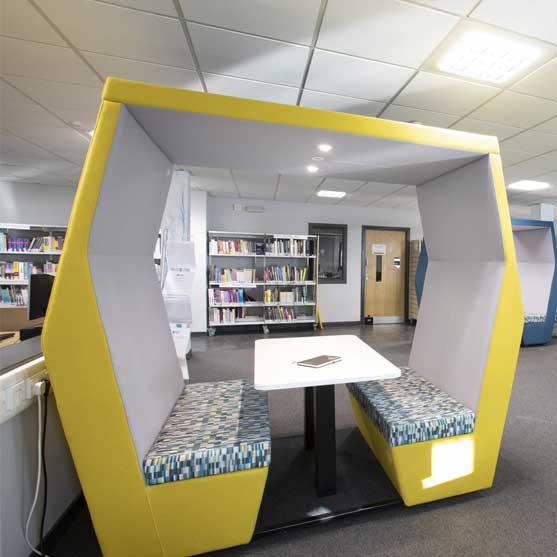 Bill Office Pod shown in a modern office environment