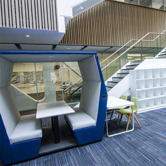 Bill Office Pod Blue