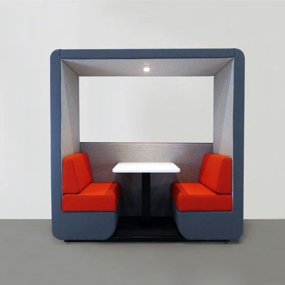 Bob Office Pod Blue and Red