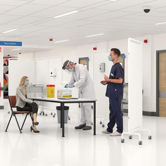 Medical Screens by Elite