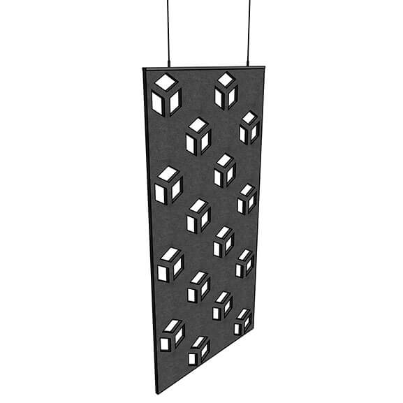 Allsfar acoustic panel cubedesign