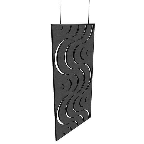 Allsfar acoustic panel wave design