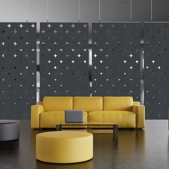 Allsfar acoustic panel spot design