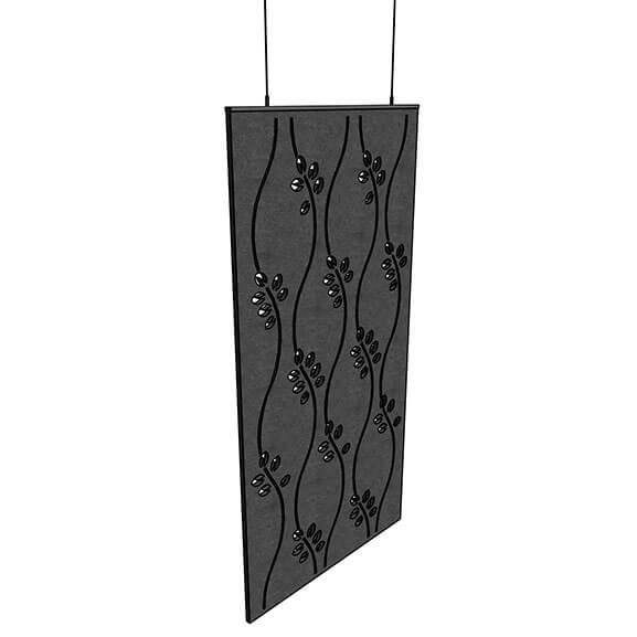 Allsfar acoustic panel swirl design