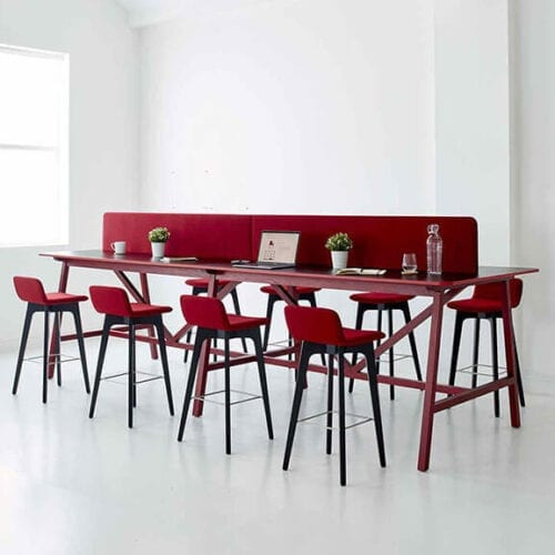Agent High Table Boss Design Red Group