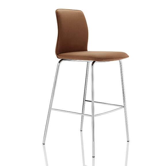 Boss Design Arran Bar Stool single 4 leg frame