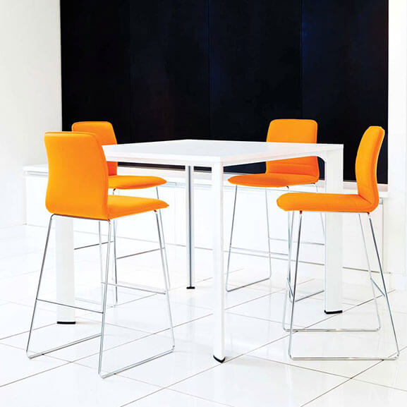 Boss Design Arran Bar Stool skid frame group