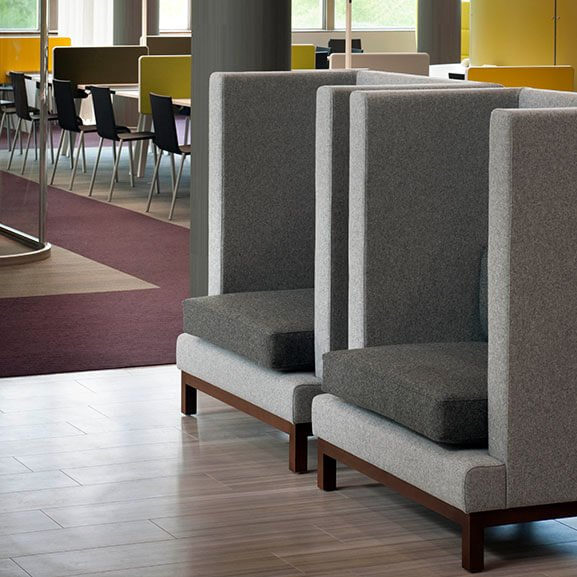 Boss Design Arthur High Back Arm Chair