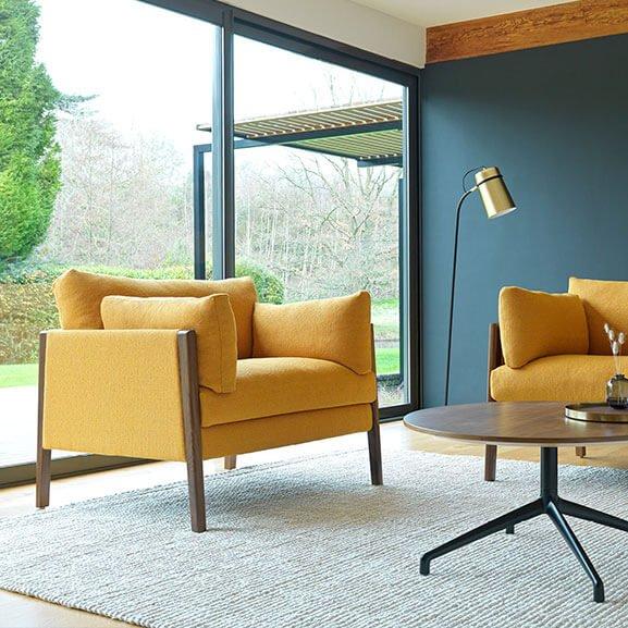 Arm chair boss design Bodie