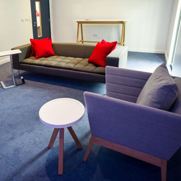 boss design upholstered callisto sofa