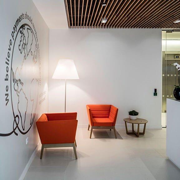 Boss design callisto sofa upholstered
